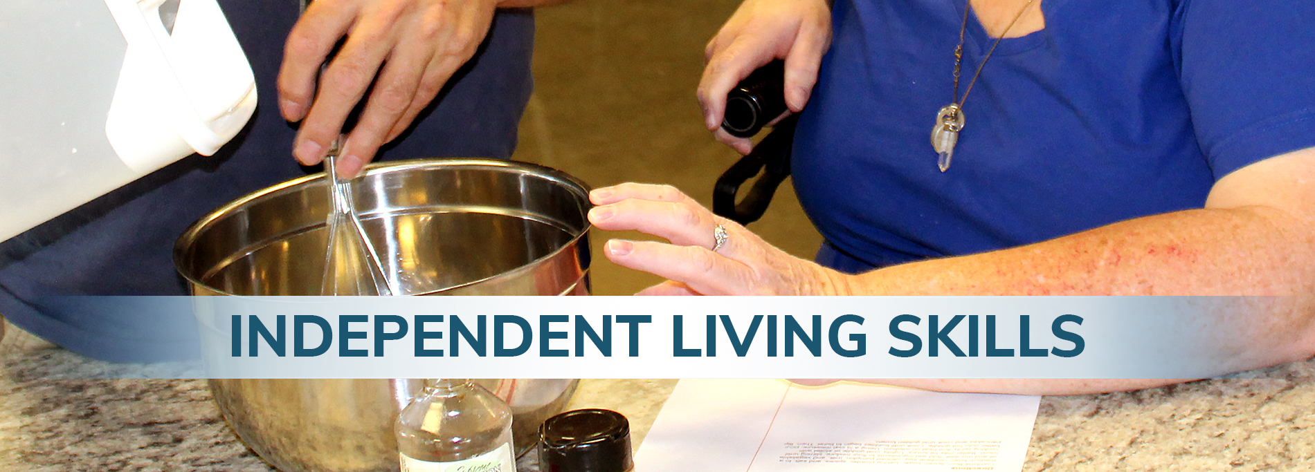 Independent Living Skills - Header